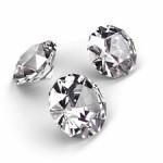Diamanten im Brillantschliff