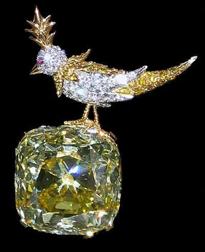 berühmter gelber Fancy Diamond